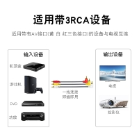 Wholesale 3RCA Audio Video Jack Cable Connect DVD to TV Male AV Converter Elbow Cable from china suppliers