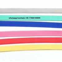 Wholesale Wholesale quality and hot sale 10mm shining bra elastic tape,bra webbing elastic. from china suppliers