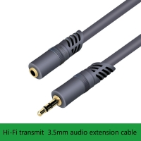 Wholesale 3.5 Car Aux Extension Audio Cable for Car Mobile Phone  Aux Adapter M-F for Laptop from china suppliers