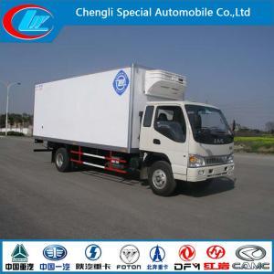 China 2015 New Condition Mini JAC Mobile Kitchen Truck 3 Ton JAC Mini Refrigerated Van Truck Mini Frozen Truck Sale on sale