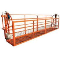 Wholesale Large Capacity Suspended Working Platform , Wire Rope Suspended Platform from china suppliers