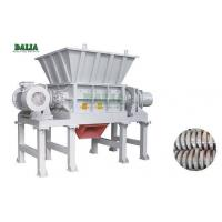 Wholesale PLC Control Double Shaft Plastic Shredder Machine With Hard Knife For Waste Films from china suppliers