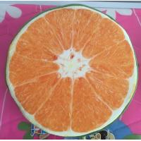 Buy cheap Hot selling high quality customized fruit printed round cushion from wholesalers