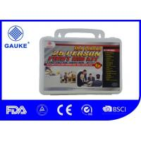Wholesale Osha Certified 25 Person Car Roadside Emergency Kit Rescue Response Kit Water - Resistant from china suppliers