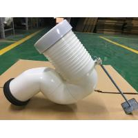 China Row To Row Toilet Pipe Connector Fitting , Space Saving Bent Pan Connector on sale