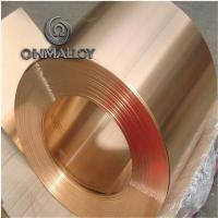 Wholesale Mechanical Resistance Pure Copper Foil C11000 C1221 0.1mm - 1.2mm Thickness For Electric Springs from china suppliers
