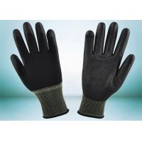 Wholesale Safety Working PU Coated Gloves Silk Screen Logo Printing Smooth Surface from china suppliers