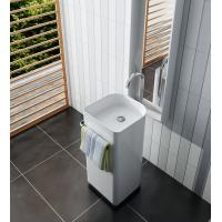 Wholesale Artificial Stone Free Standing Wash Hand Basins  Easy To Install from china suppliers