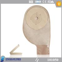 China Less Residual Disposable Ostomy Bag With Light Brown EVOH Material wholesale