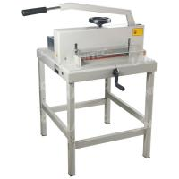 Quality Durable 1000W Manual Paper Cutter With Hand Wheel Push System 4708 for sale