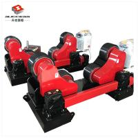 Buy cheap 20 Ton Steel Pipe Rollers With Remote Hand Control And Foot Pedal from wholesalers