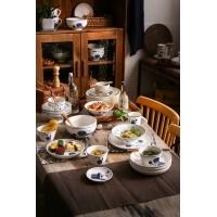 Wholesale CE LFGB Mixed Color Family 16pcs Fine China Dinnerware Set from china suppliers