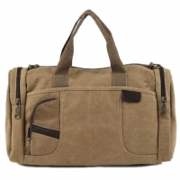 Wholesale Retro Classic Cotton Canvas Weekend Travel Duffel Bag from china suppliers