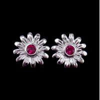 Wholesale Flower Shape 925 Silver Earrings For Women Nickel Free And Lead Free from china suppliers