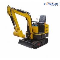 Wholesale Mini Excavator 0.8T Small Digger 1 Ton Farming Excavator With Rubber Track from china suppliers