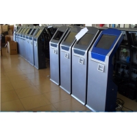 Electronic Take A Number Ticket Kiosk Queuing System For Banks,Hospitals,Clinics