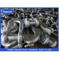 Wholesale Steel Pilot Wire High Strength Galvanized Shackle For Construction Works In Transmission Line from china suppliers