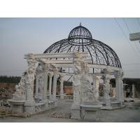 Wholesale Outdoor Garden Deco stone carving marble gazebo, china marble sculpture supplier from china suppliers