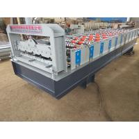 Wholesale 380V Stone Coated Metal Roof Tile Production Line , Roofing Sheet Making Machine from china suppliers