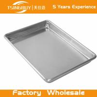 Wholesale High quality non-stick bread baking sheet-stainless steel rectangular tray-Perforated Corrugated Baking Trays from china suppliers