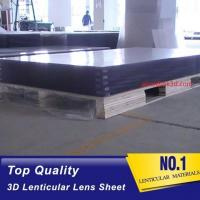 Wholesale OK3D lens lenticular factory sell 70LPI PET 0.9MM 60X80CM for 3d lenticular printing by injekt print and UV offset print from china suppliers