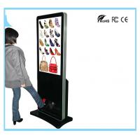Wholesale Stand Alone LCD Digital Signage Advertising Media Player With Shoe Polisher from china suppliers