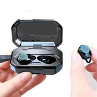 Wholesale True Wireless X6 TWS Wireless Earbuds BT V5.0 Twins Wireless Headset Blue tooth Earphone With Charging Case Customised E from china suppliers