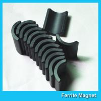 Wholesale Small Permanent Arc Segment Ferrite Magnet Y25-Y35 For Motorcyceles Motor from china suppliers