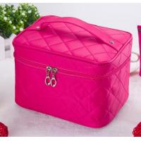 Women Customized Travel Bags , Multi - Functional Waterproof Cosmetic Bag