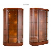curve wall case glass shop display cabinets with halogen spotlights rh metalmachiningparts suppliers howtoaddlikebut