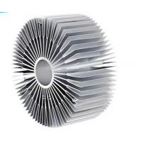 Wholesale Silvery / Anodized Industrial Aluminum Profile , Precision Custom CPU Aluminum Heat Sink from china suppliers