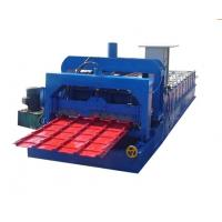 Wholesale ISO Glazed Steel Tile Roll Forming Machine / machinery, rolling forming machines from china suppliers