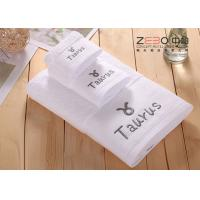 Solid Color Large Bath Towels Hotel Collection For Women / Men Easy Wash