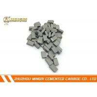 Buy cheap Grade SM12 tungsten carbide cutting tools , tungsten carbide blade Tip ISO certification from wholesalers
