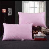 Wholesale Rectangle 80% Goose Down Pillows And Pink & White Color Size 55 * 80cm from china suppliers