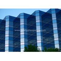 China 12.38mm Low E Laminated Safety Glass for Curtain Wall , Door and Windows wholesale