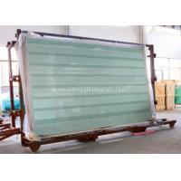 China Clear / Tint Laminated Tempered Safety Glass , Solid tempered window glass wholesale