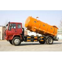 Wholesale Yellow Color Diesel SINOTRUCK 6M3 Sewer Suction Truck HF7 Front Axles from china suppliers