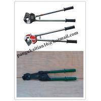 Wholesale often sale Cable cutter with ratchet system,Cable scissors good in China from china suppliers