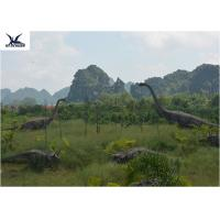 Realistic Ultra Giant Dinosaur Statue For Jurassic Forest Decoration 110/220V