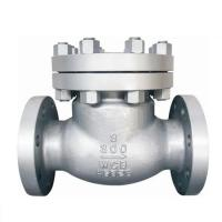 Wholesale BS1868 Cast Steel Swing Check Valve ASTM A216 WCB,13%Cr Trim 8#, 3 Inch RF,class 300LB from china suppliers