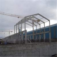 Portal frame steel building ss 320 commercial steel for Steel frame barns for sale