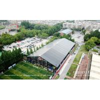 Wholesale Black tent for indoor basketball sports hall with black PVC fabrics from china suppliers