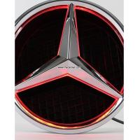Mercedes benz cls300 cls350 cls550 front grille logo led for Mercedes benz symbol light