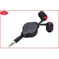 Wholesale Red Two Way Retractable Cable Earplug for samsung s3 s4 , ipad mini from china suppliers