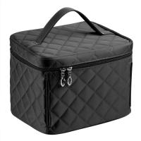 Buy cheap Large Embroidered black Cosmetic Bag-Monogram Cosmetic Bag-Personalized Cosmetic from wholesalers