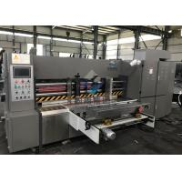 Buy cheap Automatic Lead Edge Feeding Rotary Die Cutting Machine , Corrugated Carton Box from wholesalers