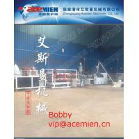 Glazed Tile Roof Panel Making Machine / Plastic Roof Tile Extrusion Line with 880mm / 1040mm width