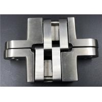 China High Security Stainless Steel Concealed Hinges For Solid Wood Swing Door on sale