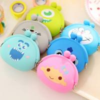 China 2016 New design wholesale animal shape silicone coin purse silicone bag wholesale